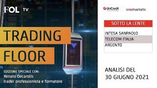INTESA SANPAOLO Strategie operative su Intesa Sanpaolo, Telecom Italia e Argento con Renato Decarolis
