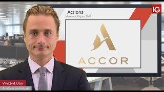 ACCOR Bourse - ACCOR, deux intermédiaires en soutien - IG 19.06.2019