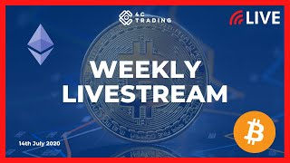 BITCOIN Crypto Livestream of 15th July: Biggest range on Bitcoin since 2018! #crypto #livestream #btc