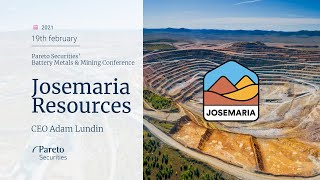 AMP LIMITED Josemaria Resources / Pareto Securities' Battery Metals & Mining Conference