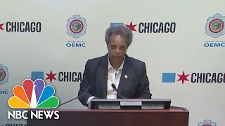 Chicago Mayor Addresses 'Painful' Unrest As Protests Continue | NBC News NOW