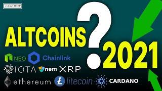 ETHEREUM 10 dramatische Altcoin Vorhersagen für 2021!! (Ethereum, Ripple, Cardano, Chainlink, etc.)