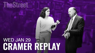 BOEING COMPANY THE Jim Cramer on Boeing, Apple and General Electric Earnings and the Coronavirus