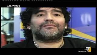 """Maradona by Kusturica, Maradona racconta il coma: """"Ero morto, il Signore mi disse 'non ancora, ..."""