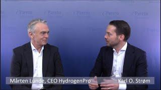 HydrogenPro - Intervju med CEO Mårten Lunde