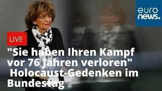Gedenkveranstaltung für die Opfer des Holocaust im Bundestag