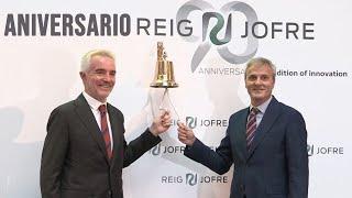 REIG JOFRE Reig Jofre celebra 90 años de historia empresarial y 5 como cotizada