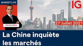 CAC40 INDEX Analyse des marchés  11h -  27/07/2021  (CAC40 DAX30 SP500 DOWJONES NASDAQ100...)