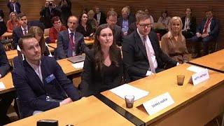Sanna Marin é a primeira-ministra mais jovem da história da Finlândia