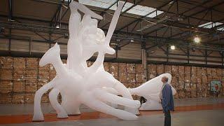 La Biennale d'Arte contemporanea di Lione: opere in via di trasformazione
