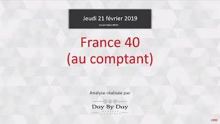 CAC40 Index Idée de trading : achat France 40 au comptant