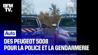 PEUGEOT D'ici la fin de l'année, les forces de l'ordre vont recevoir 1 263 exemplaires du SUV Peugeot 5008