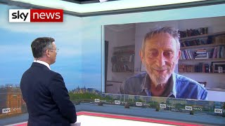 Author Michael Rosen on his long-COVID fight