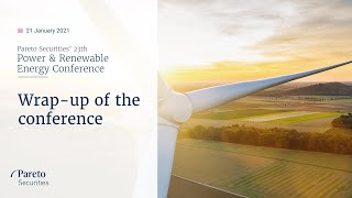 AMP LIMITED Wrap up of the 2021 Power & Renewable Energy Conference