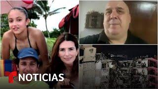 Familia colombiana está desaparecida en el derrumbe en Miami | Noticias Telemundo