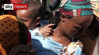 Ethiopia conflict: Treacherous journey for thousands fleeing violence and persecution