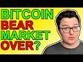 Bitcoin Bear Market Over? [Crypto News 2021]