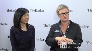 Rachel Slade, chief customer experience officer, NAB, and Nancy So, Asia-Pacific head of institution