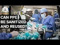 How Companies Are Sanitizing PPE For Reuse