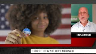 NASDAQ100 INDEX Thomas Gebert: Nasdaq 100 - Steigende Kurse nach der US-Wahl