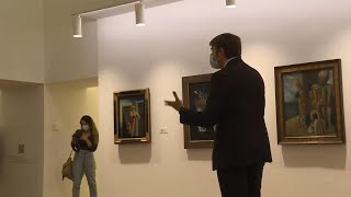 El arte de las vanguardias impregna el Museo de Bellas Artes de Asturias