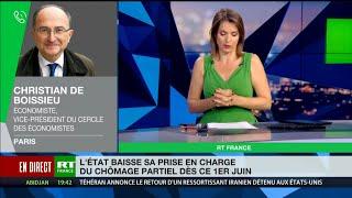 Christian de Boissieu : «Le chômage partiel va laisser la place au chômage tout court»