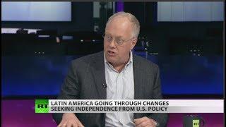 Chris Hedges: Empire striking back in Latin America