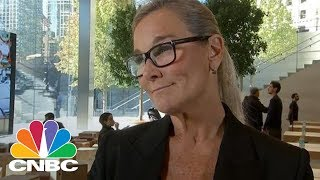 APPLE INC. Apple Retail Chief Angela Ahrendts: We Will Not Upsell Customers To The iPhone X | CNBC
