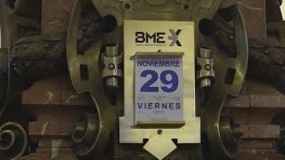IBEX35 INDEX El Ibex 35 cierra noviembre con un avance del 1 % y encadena tres meses al alza