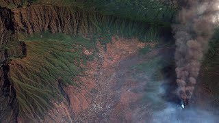 UBER INC. Schwefelgeruch über La Palma: Neuer Schlot spuckt Asche und Rauch