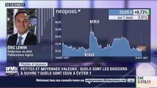 QUADIENT Pépites & Pipeaux: Neopost -16/10 - Eric Lewin sur BFM Business