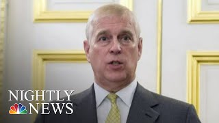 Prince Andrew To Step Back From Public Life After Explosive Interview On Epstein | NBC Nightly News
