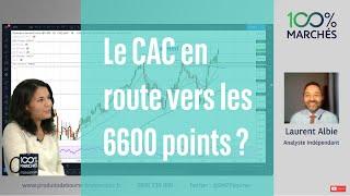 CAC40 INDEX Le CAC en route vers les 6600 points ? - 100% Marchés - soir - 27/09/2021