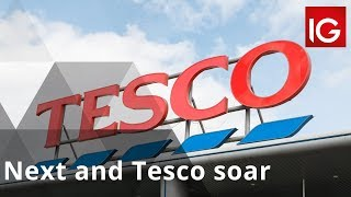 TESCO ORD 5P Next and Tesco soar despite death of the high street