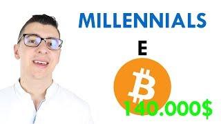 Bitcoin i MILLENNIALS e i BITCOIN.... li adorano ❤