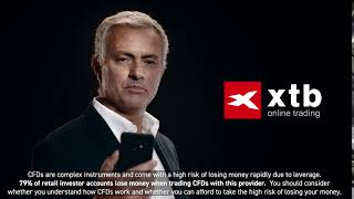 Be like José Mourinho - Trade Indices CFDs with XTB