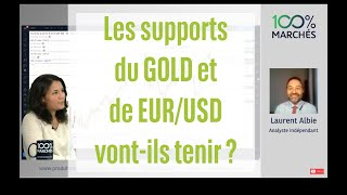 GOLD - USD Les supports du GOLD et de EUR/USD vont-ils tenir ? - 100% Marchés Daily - 01 Juillet 2021