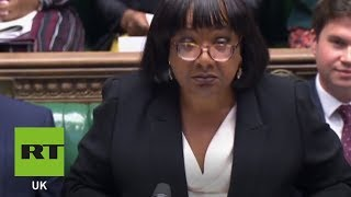 ABBOTT LABORATORIES Diane Abbott becomes first black person to represent her party at PMQs