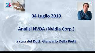 NVIDIA CORP. Analisi nvidia del 04.07.2019