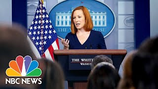 Live: White House Holds Press Briefing | NBC News