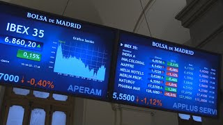 IBEX35 INDEX El Ibex 35 suma un 0,15 % y termina en los 6.860 enteros