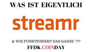 STREAMR DATACOIN FFDK COINDAY - Was ist eigentlich Streamr DATAcoin ? Das bessere IOTA ? Gewinnspiel uvm