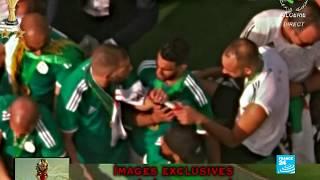 En IMAGES : Retour des Algériens, champions d'Afrique, à Alger avec le trophée de la CAN-2019