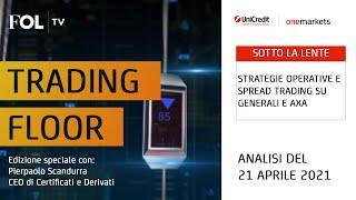 AXA Strategie operative e spread trading su Generali e AXA