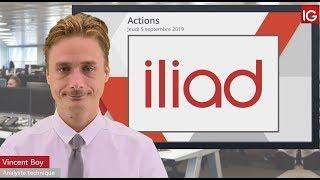 ILIAD Bourse - ILIAD, vers un rebond technique? - IG 05.09.2019