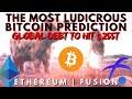 CRAZY BITCOIN PREDICTION | Banking Experiences | Ethereum ISTANBUL FORK | FUSION FSN | Bitcoin News