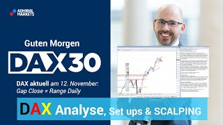 AMP LIMITED DAX aktuell: Analyse, Trading-Ideen & Scalping | DAX 30 | CFD Trading | DAX Analyse | 12.11.19