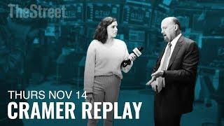 CISCO SYSTEMS INC. Jim Cramer Weighs In on Cisco, Walmart, President Trump and Elizabeth Warren