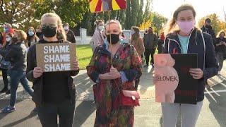 Pologne : nouvelles manifestations contre l'interdiction quasi totale de l'avortement