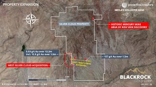 BLACKROCK INC. Blackrock Gold finds new east-west vein system at Silver Cloud project in Nevada